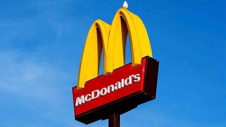 France McDonald's blague