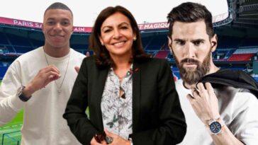 Messi PSG Anne Hidalgo