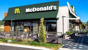 McDonald's eau payante