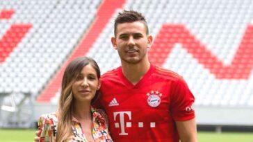 Lucas Hernandez couple âge